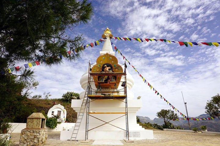 Stupa in Karma Guen, Spain