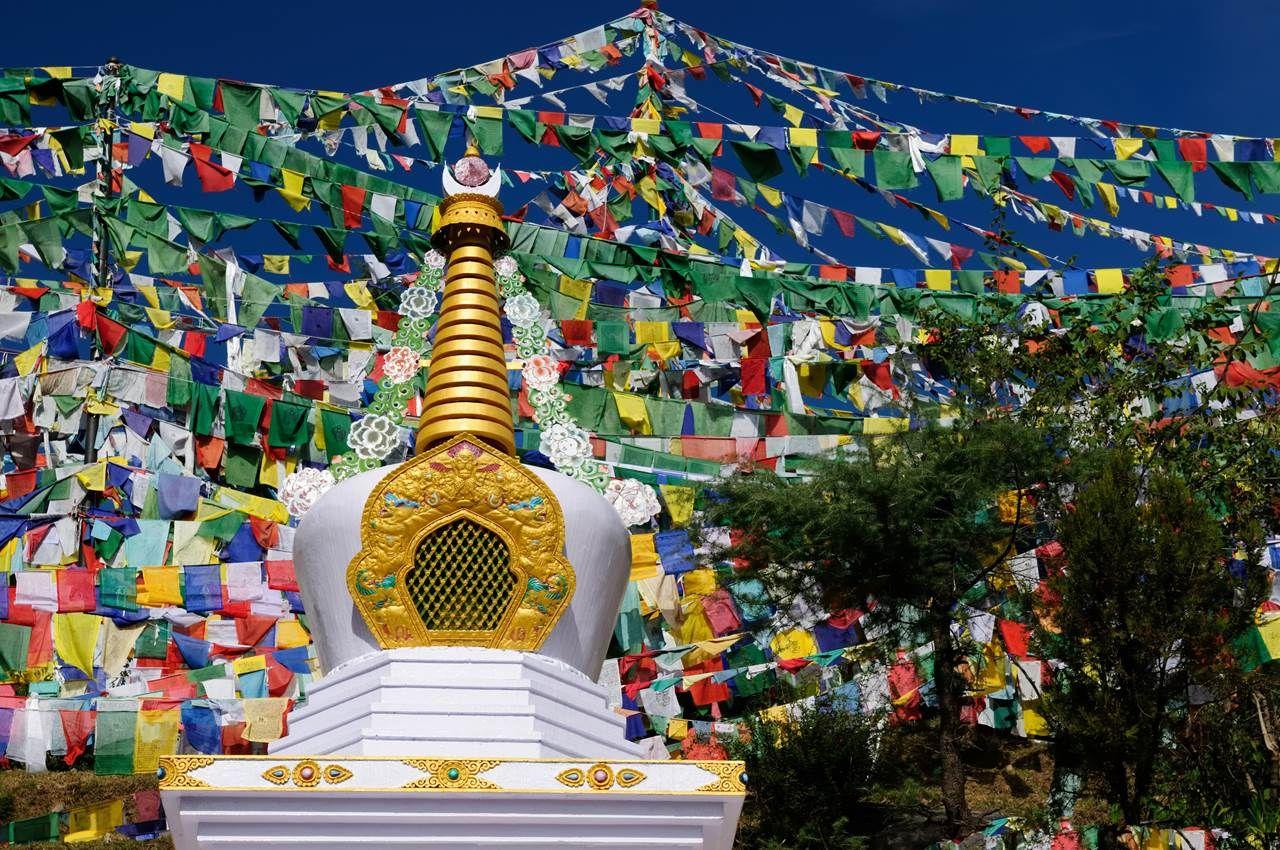 Stupa in Dharamsala, India