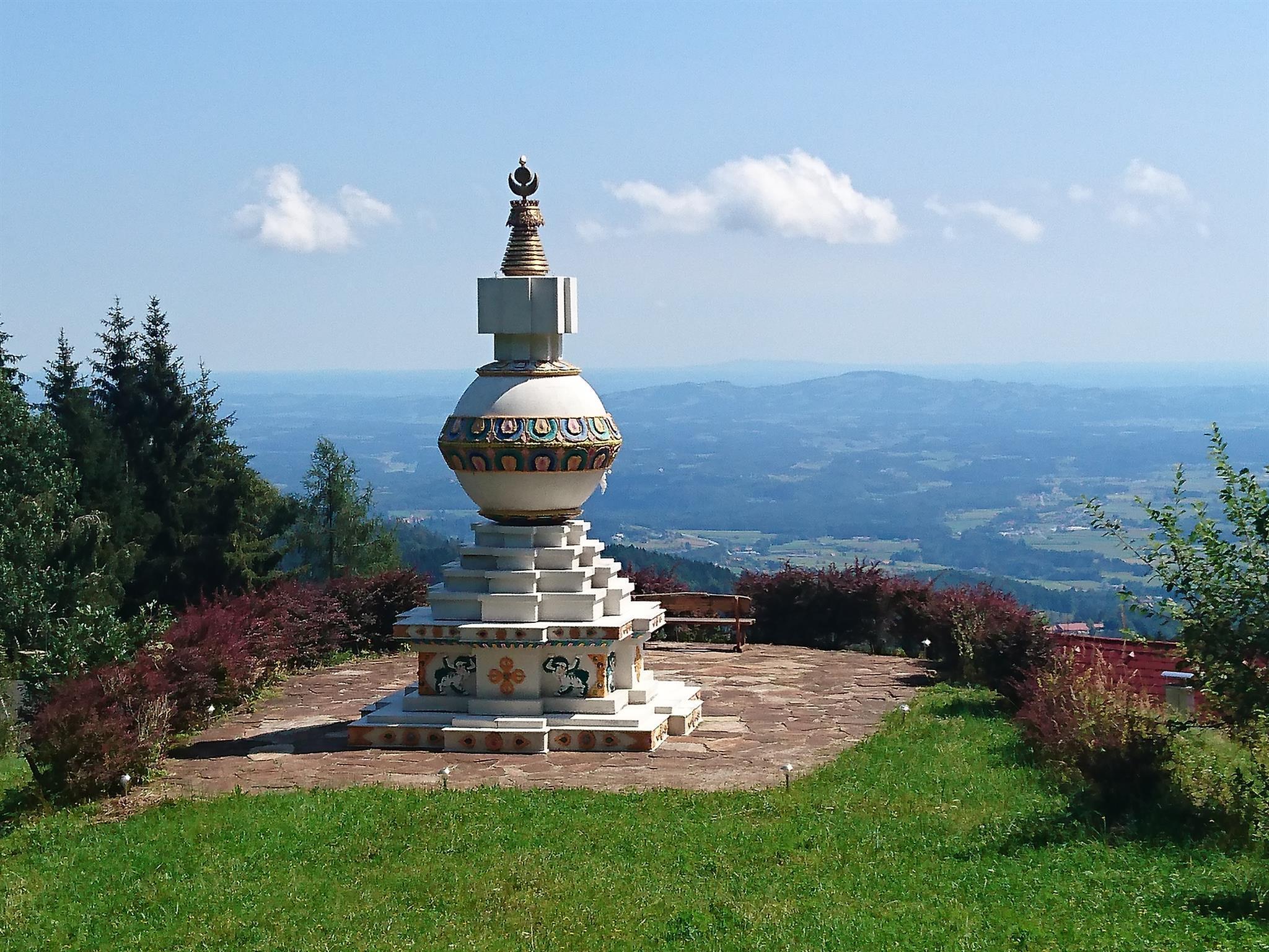 Stupa in Garanas, Austria