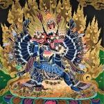 Vajrabhairava Thangka Painting