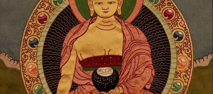 Buy Online Shakyamuni Buddha Thangka