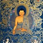 Shakyamuni Buddha Thangka Painting