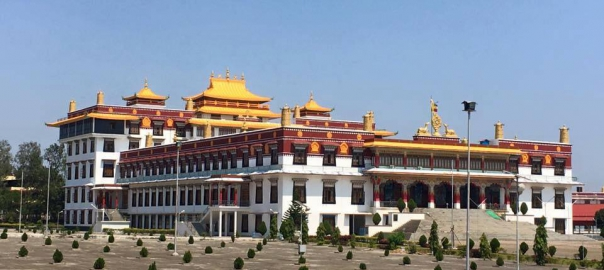 Drepung Loseling Monastery in India