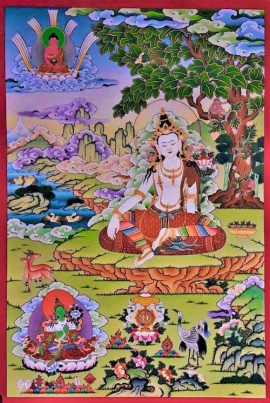 Chenrezig by Rajman Lama