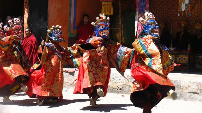 Tsurphu Cham Dance Festival