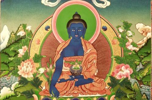 Buy Medicine Buddha Thangka online