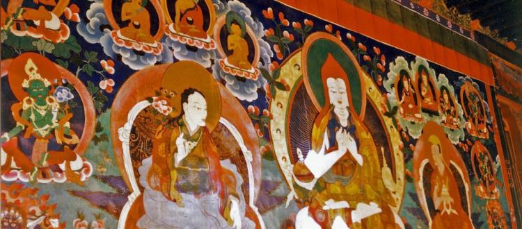 Atisa Thangka Painting