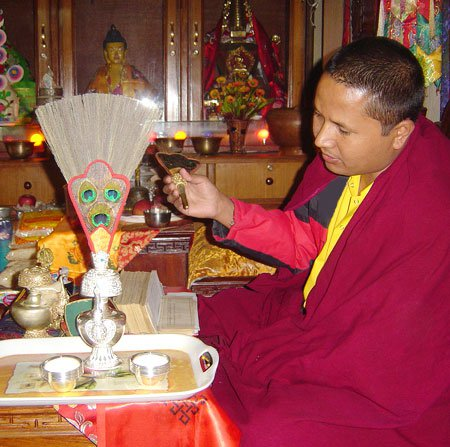 Consecration. Consecration is the solemn dedication to a special purpose or service, usually religious. Images of the Buddha and bodhisattvas are ceremonially consecrated in a broad range of Buddhist rituals that vary depending on the Buddhist traditions.