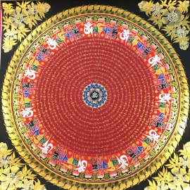 Buddhist Mantra-mandala