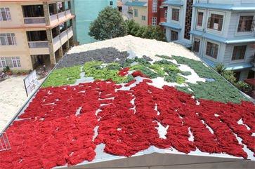 Yarn Drying