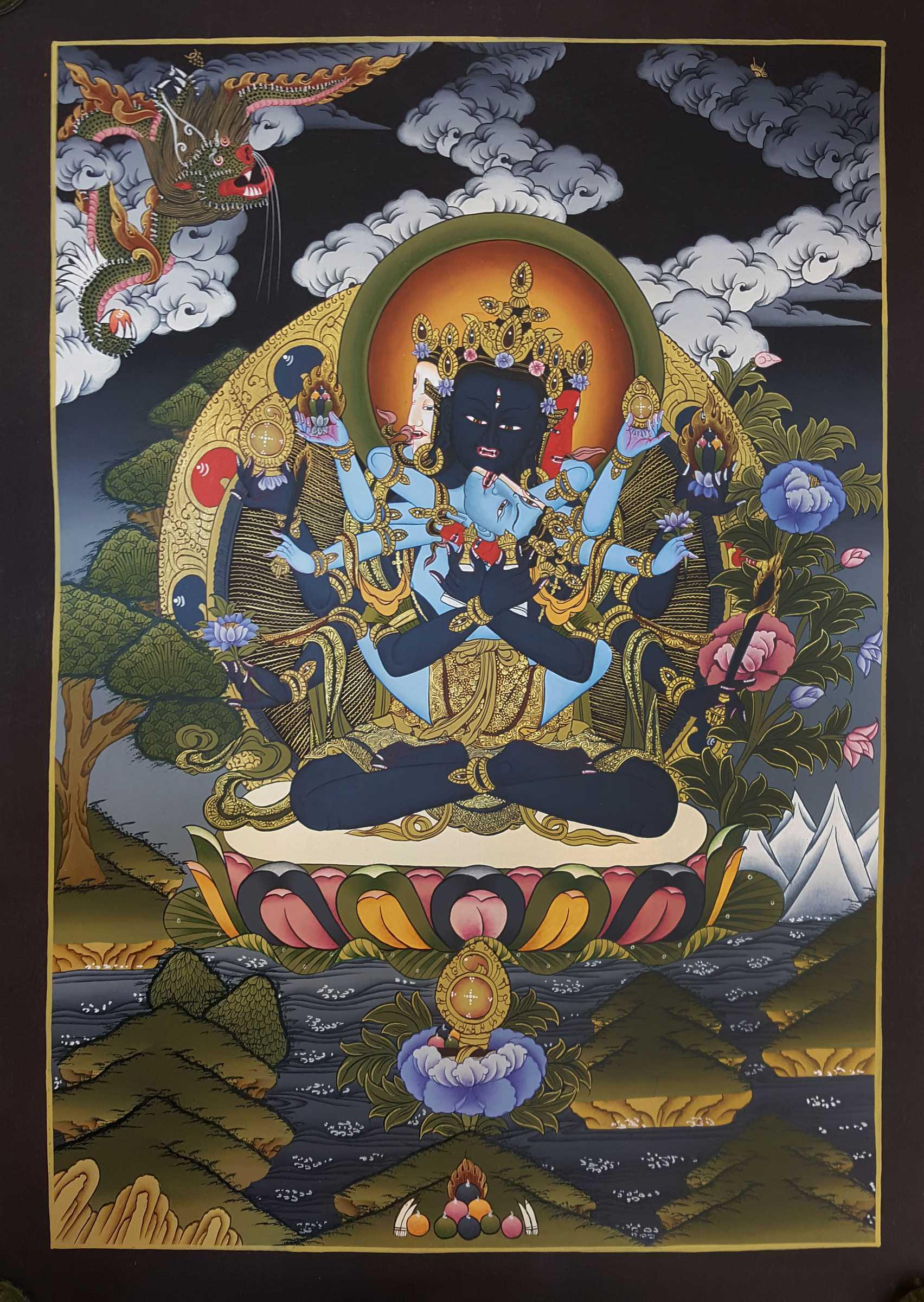 Guhyasamāja Thangka