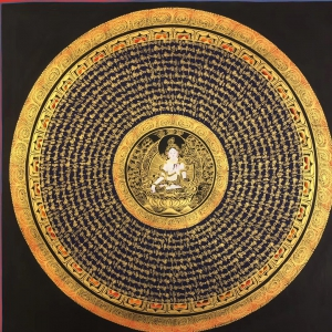 White Tara Mantra Mandala