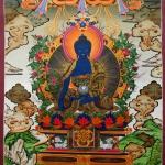 Medicine Buddha Thangka Painting