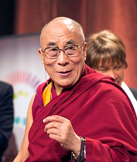 """Dalai Lama is a title given to spiritual leaders of the Tibetan people. They are part of the Gelug or """"Yellow Hat"""" school of Tibetan Buddhism, the newest of the schools of Tibetan Buddhism. The Dalai Lama title was created by Altan Khan, the Prince of Shunyi, granted by Ming Dynasty, in 1578.The Dalai Lama is considered to be the successor in a line of tulkus who are believed to be incarnations of Avalokiteśvara, a Bodhisattva of Compassion. The name is a combination of the Mongolic word Dalai meaning """"ocean"""" or """"big"""" and the Tibetan word (bla-ma) meaning """"master, guru""""."""