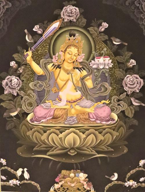 Manjushri Paubha