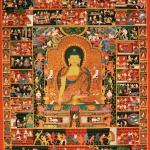 Life of Buddha Thangka Art