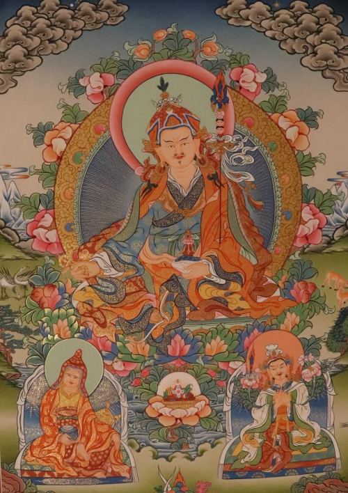 Guru Padmasambhava Thangka Painting