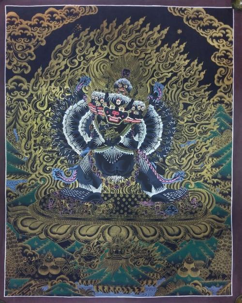 Yamantaka Thangka Painting