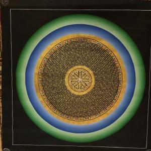 Om Mandala Art