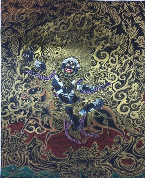 Palden Lhamo Tibetan Thangka