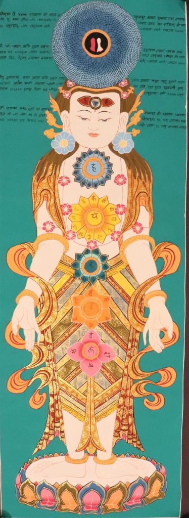 7 Chakras Thangka