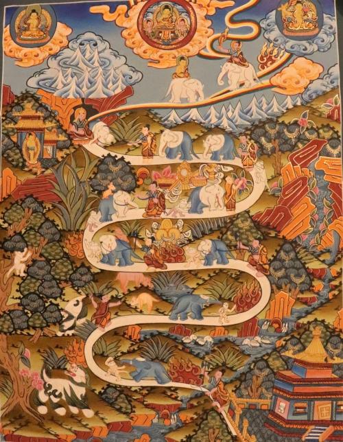 Way to Heaven Thangka Art