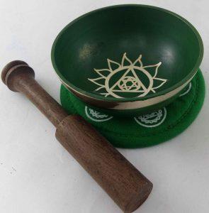 Green Heart Chakra Singing Bowl
