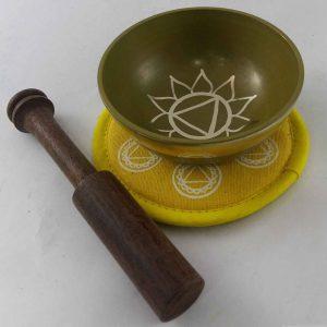 Yellow Solar Plexus Chakra Singing Bowl