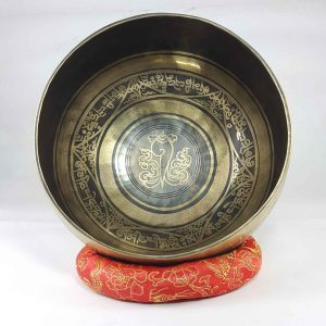 Bronze Shanka singing bowl
