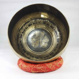 Bronze Dhoja Shell singing bowl