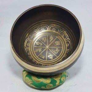 Om Mane Padme Hum Design Singing Bowl