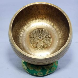 Embossed Singing Bowl