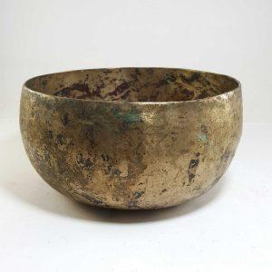 Antique Handmade Singing Bowl G2 Chakra