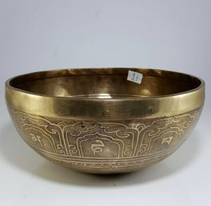 Therapeutic singing bowl E Solar Chakra