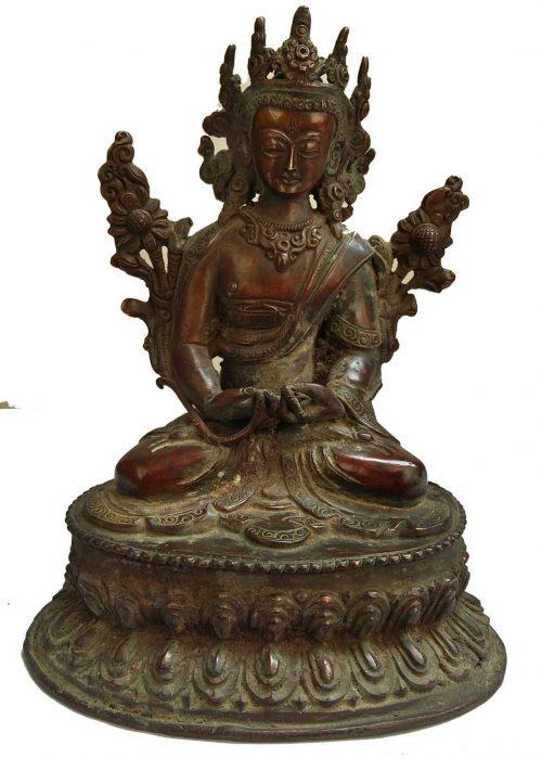 +50 Year Old Unique Antique Statue of Maitreya Buddha