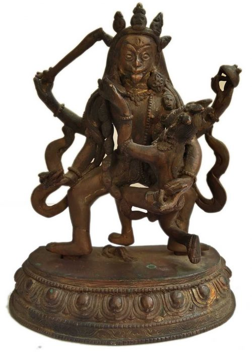 +50 Year Old Antique Statue of Kali