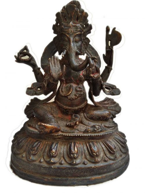 +50 Year Old Antique Statue of Ganesh