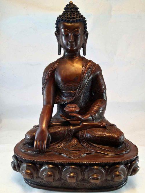 Shakyamuni Buddha Statue with Whole Body Carving