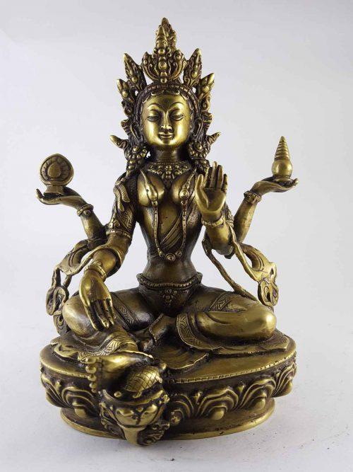 Brass Laxmi Statue Brass
