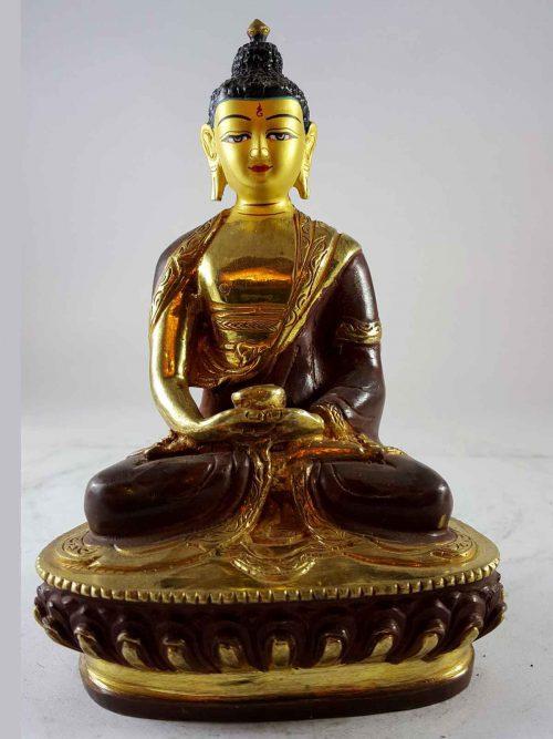Statue of Shakyamuni Buddha Painted Face