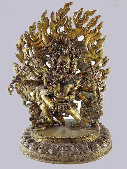 Statue of Hayagriva Bronze finishing