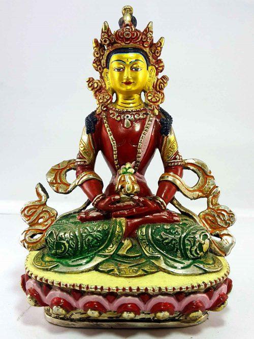 Aparmita Handmade Statue Thangka Color finishing