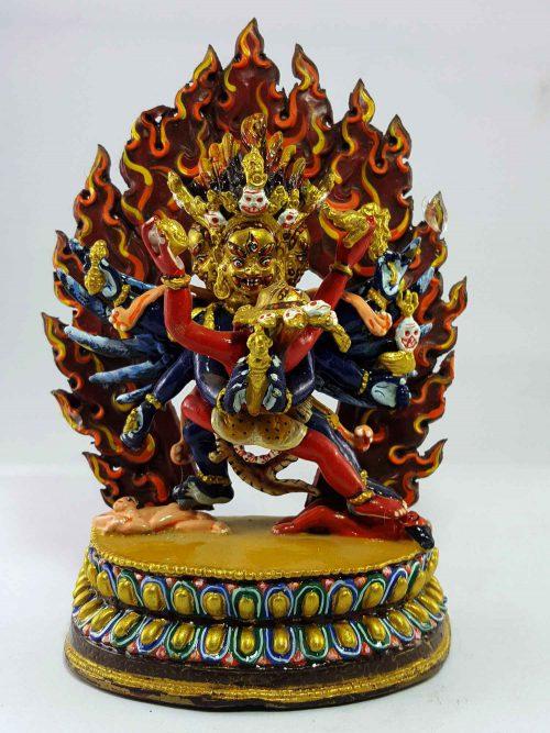 Vajrakillaya Handmade Statue Thangka Color finishing