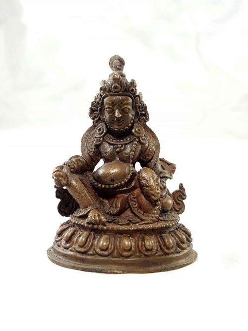 Jambala Copper Miniature Statue