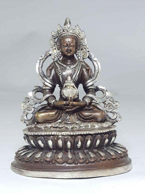 Statue of Aparmita with Double Lotus Base