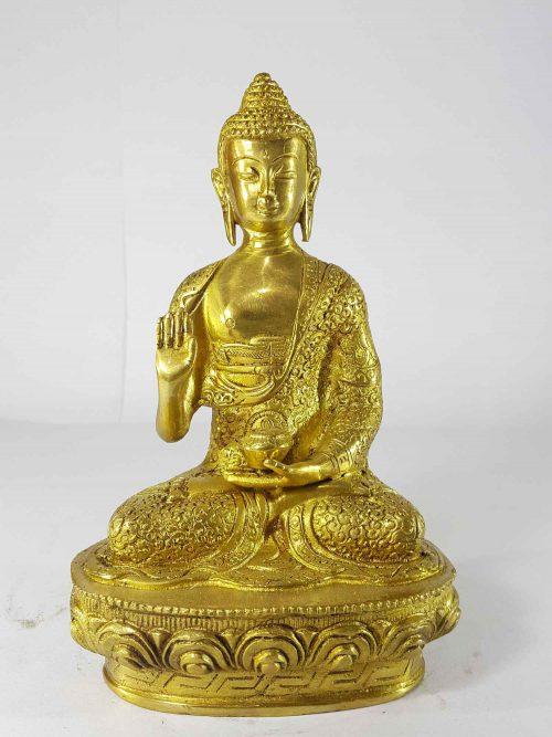 Amoghasiddhi Buddha Statue Sand Casting