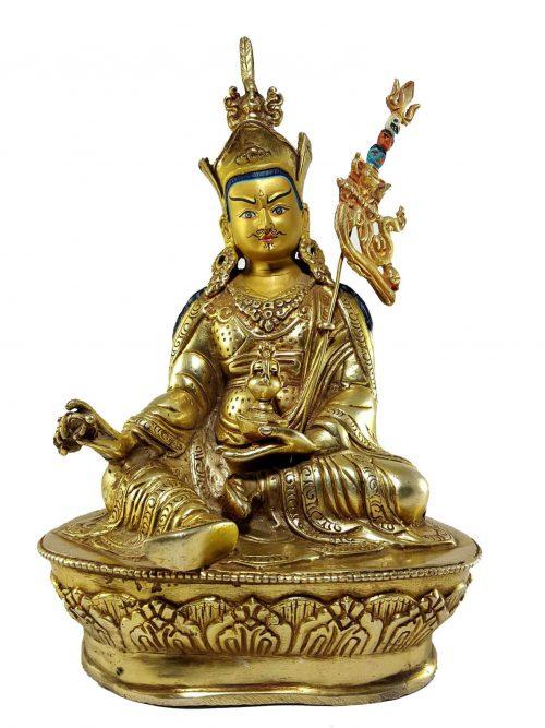 Guru Rinpoche Padmasambhava Statue Painted Face
