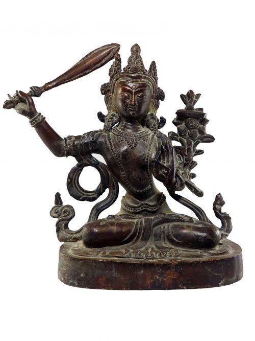 Manjushri Statue Natural finishing