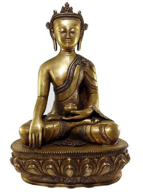 Shakyamuni Buddha Statue Bronze finishing