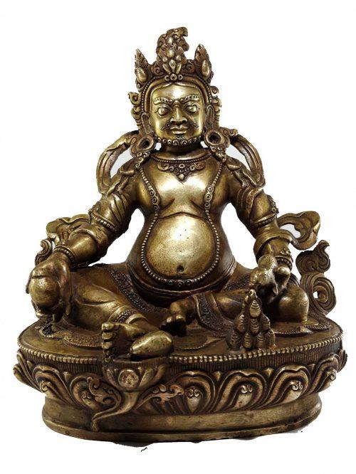 Dzambhala Jambhala Kubera Statue Bronze finishing